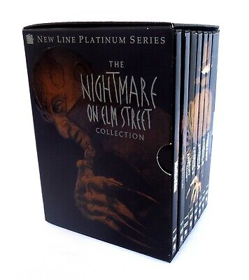 The Nightmare on Elm Street Collection (1999) 8 DVD Box Set-Seven Films+Bonus
