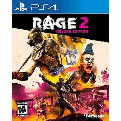 RAGE 2 DELUXE Edition (PlayStation 4) ******BRAND NEW & FACTORY SEALED****** ps4