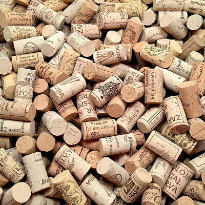 100PCS/SET Natural Cork Tapered New Corks Wooden Wine/Beer Bottle Stoppers Bungs