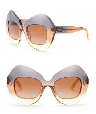 895450755c00 NEW AUTH DOLCE & GABBANA BUTTERFLY BLUE PEACH SUNGLASSES DG4290 w/BOX,CASE-