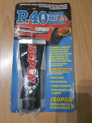 ISOPON P.40 Bridges Holes and Rust Bond Car Repair 100mm