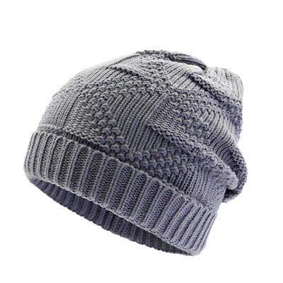634df626908 Soft Warm Cable Knit Beanie Hats Baggy Slouchy Skull Ski Cap Women Men