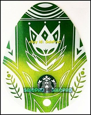 Starbucks Coffee 2016 Easter Egg Series Keychain Style Collectible Gift Card