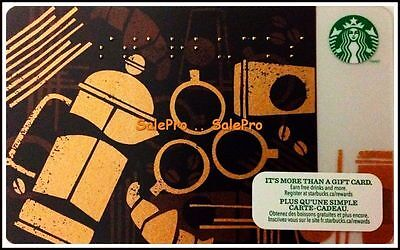 Starbucks Braille System Blind Awareness Bilingual Rare Collectible Gift Card