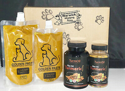 Golden Paste for Dogs or Capules Tumeric  / Flax Oil (Variation Listing)