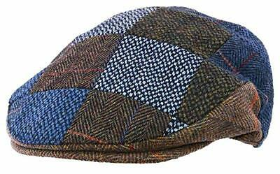 """ The Quiet Man"" Irish Multi Tweed Flat Cap Available in Small, Medium and Large"