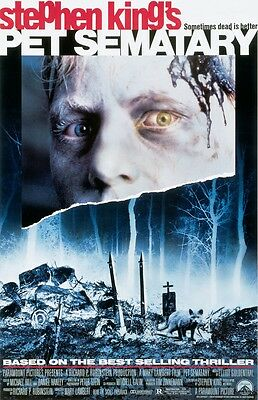 Pet Sematary movie poster print : 11 x 17 inches Stephen King, Horror