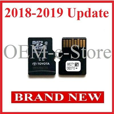 2013-2019 Toyota Tacoma Tundra Navigation Micro SD card US CAN Map Latest Update