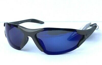 67fcd8cc30 MEN S FOSTER GRANT Blue Mirror Silver Sport Wrapped Sunglasses ...