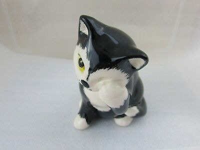 Vintage Black Cat - Devon Ceramics Ltd Torquay - Very Cute - No Chips
