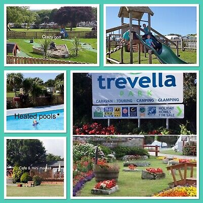 Luxury Caravan Hire Trevella Park  Newquay Cornwall June-July-Aug Available
