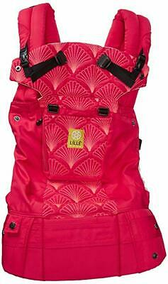 lillebaby Complete Embossed 6-in-1 Baby Carrier, Coral