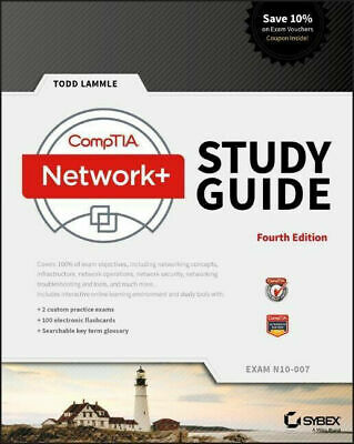 CompTIA Network+ Study Guide Exam N10-007 by Todd Lammle 9781119432258
