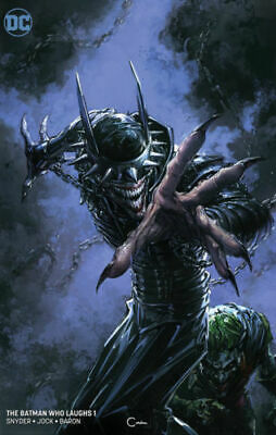Batman Who Laughs #1 Clayton Crain B Cover Variant Nm Dc 2018