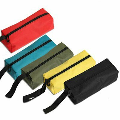 Portable Hand Tool Storage Bag Screws Nails Drill Bit Metal Parts Pouch Bag