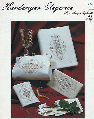 HARDANGER ELEGANCE Embroidery Leaflet # H-1 by Mary Seyfarth ©1982