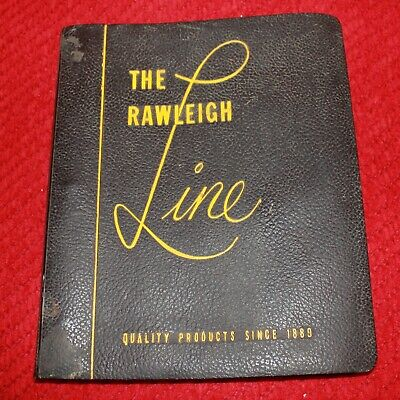 W. T. Rawleigh Salesman Product Book- 16 Pages of Color Photos-50's/60's