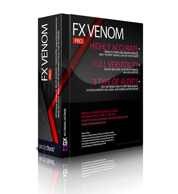 FOREX VENOM PRO Trading MT4 INDICATOR SYSTEM EASIEST MOST
