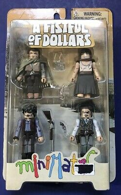 Minimates Fistful of Dollars Man with No Name Spaghetti Western Clint Eastwood
