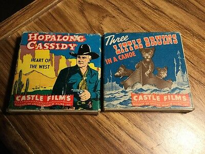 Hopalong Cassidy - Three Little Bruins - 8 mm - Film - not tested see pics