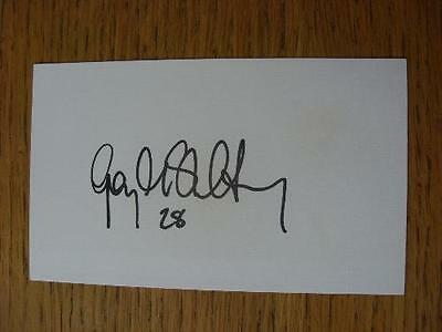 2011/2012 Autographed White Card: Coventry City - McSheffrey, Gary. No obvious f