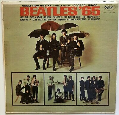 The Beatles - Beatles '65 - 1965 - Vinyl Record LP MONO FIRST PRESS