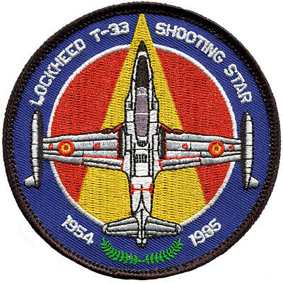 Parche Lockheed T-33 Ejercito aire España Spanish Air Force Military Patch Army