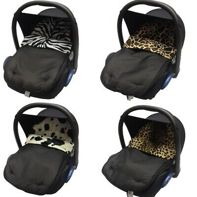 Animal Print Car Seat Footmuff / Cosy Toes Baby Compatible with Mountain Buggy