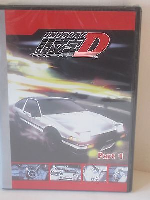 New Initial D First Stage 3-DVD Complete Eps 1-26 Anime Racing Tokyo Drift