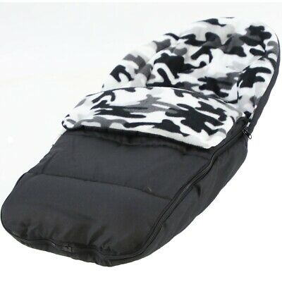 Fleece Car Seat Footmuff / Cosy Toes Compatible with Joolz