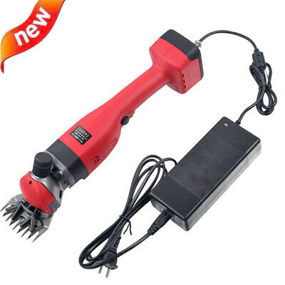 Portable Brushless Sheep Shears Electric Wool Scissors Goat Hair Clippers 300W