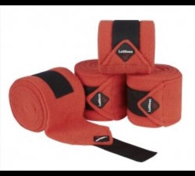 Le Mieux Bandages, Fleece, Coral Red, FREE UK Postage