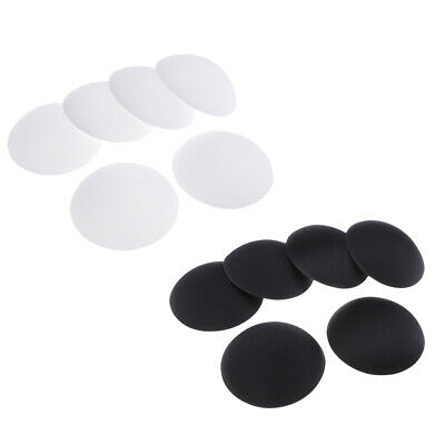 6 Pairs Removable Round Cups Bra Pad Inserts Pads For Sports Bra Bikini Top