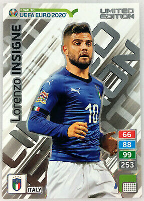 2020 PANINI ADRENALYN XL ROAD TO UEFA EURO LIMITED EDITION * Insigne ITALY