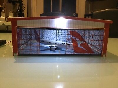 Qantas Cargo Termimal building  1/200 Scale One Of Kind....with lights