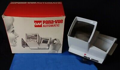 *** Visionneuse Diapositives Automatique - Gaf Pana-Vue Automatic + Piles ***
