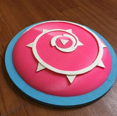 Rose Quartz shield from Steven Universe scudo Cosplay stampato 3D