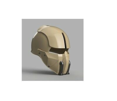Synth Field Helmet Fallout 4 Cosplay stampato 3D
