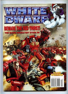White Dwarf Magazine #228 - Games Workshop Citadel Miniatures - December
