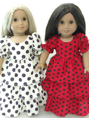 """18"""" Doll Dress fits 18 inch American Girl Doll Clothes 77c"""