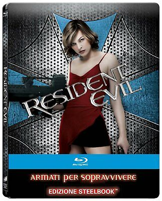 Resident Evil - Blu-Ray Import Steelbook Exclusif Italie VF INCLUSE et Zone All