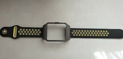 Sony SmartWatch 3 SWR50 Black Galaxy (Adapter) & LIME Dots Silicone Strap