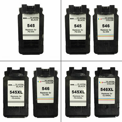 Canon PG545 / PG545XL / CL546 / CL546XL Refilled Ink Cartridges For PIXMA MG2450