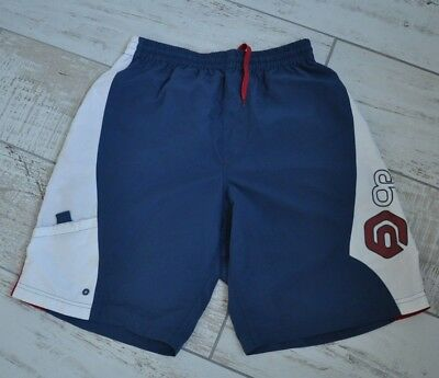 2ff519dcdd OCEAN PACIFIC MENS/ Boys Blue, White Red Polyester Board Shorts Size ...