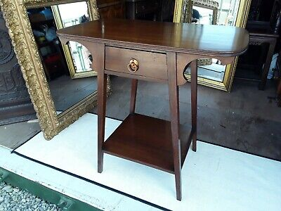 Arts and Crafts Mahogany Side Table Antique