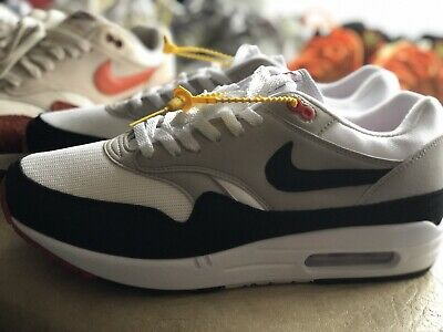 size 40 c6711 13d98 Nike Air Max 1 Anniversary Obsidian Us9.5 Eu43The Off Og Patta Animal White  Ten