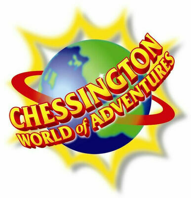 2 X Chessington World Of Adventures Tickets Thursday 6th June, 2019 (6/6/19)