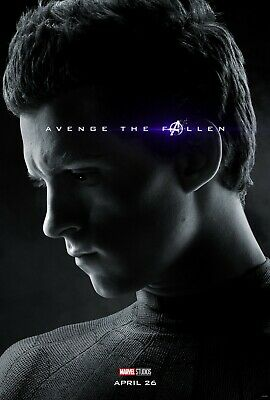 Avengers Endgame movie poster  - 11 x 17 inches - Spiderman poster, Tom Holland