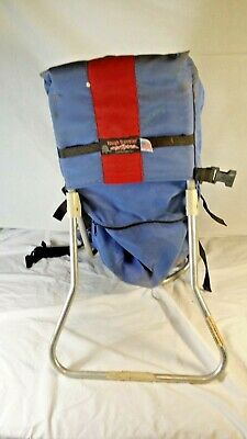 08ac244835b Tough Traveler Child Baby Carrier Hiking Backpack - Blue Red - Made in USA