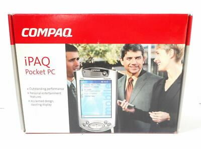 Compaq iPaq H3955 Color LCD Pocket PC PDA 64mb Touchscreen MINT TESTED & WORKING